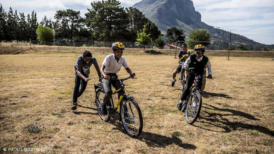 Dimension Data for Qhubeka, biciclette che cambiano la vita